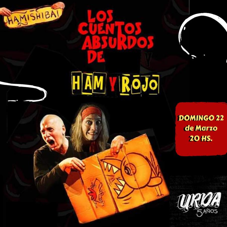 """""""Los cuentos absurdos de Ham & Rojo"""" Hamishibai - Teatro & Cartón"""