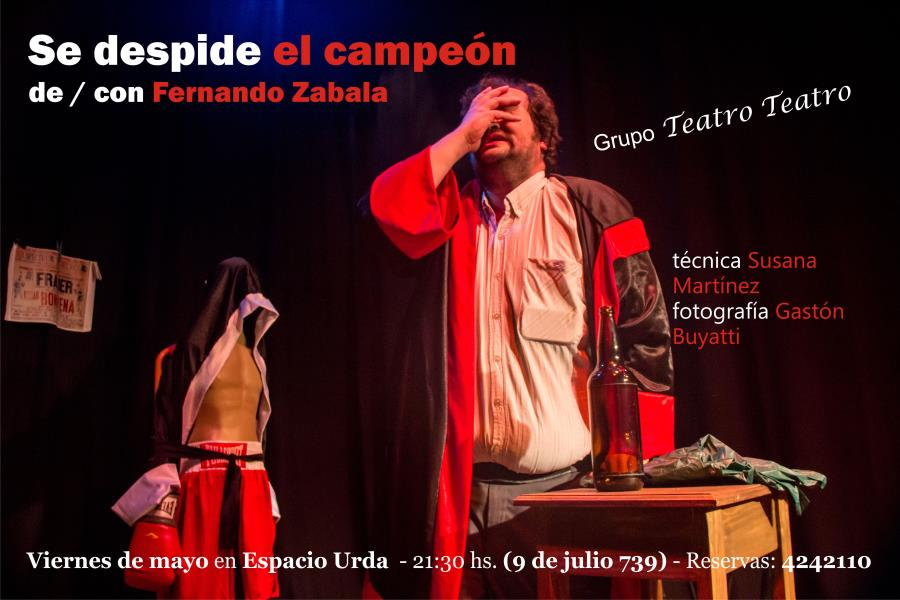 Se despide el campéon de / con Fernando Zabala