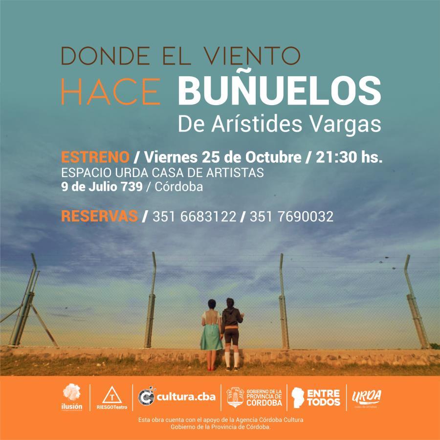 """Obra """"Donde el viento hace buñuelos"""" de Arístides Vargas"""
