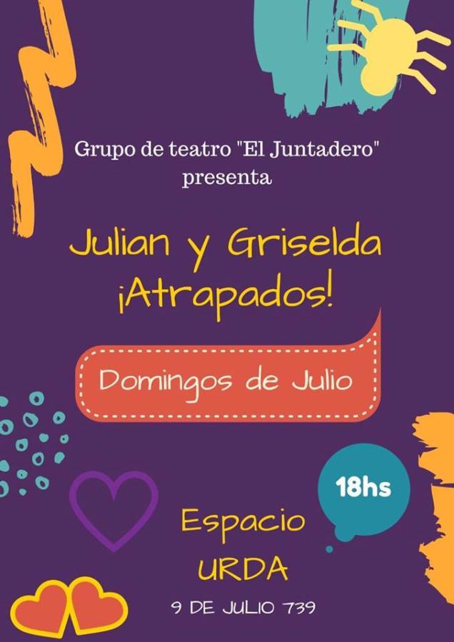 Julián y Griselda ¡ATRAPADOS!