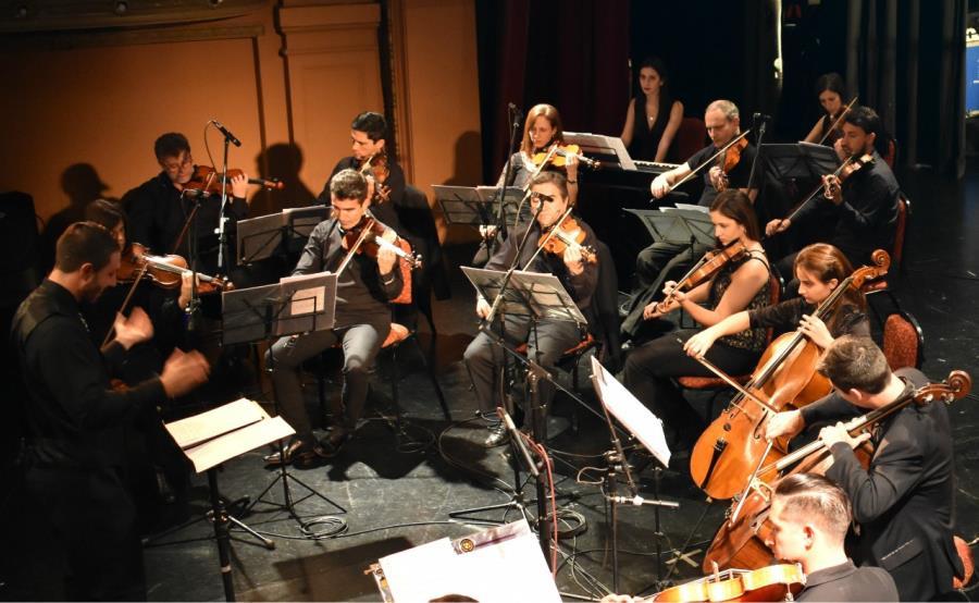 Actuación del Coro y la Orquesta Municipal.