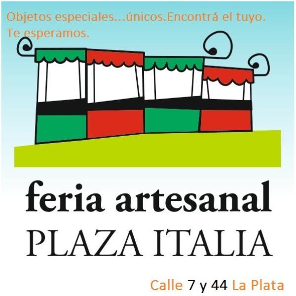 FERIA ARTESANAL PLAZA ITALIA LA PLATA