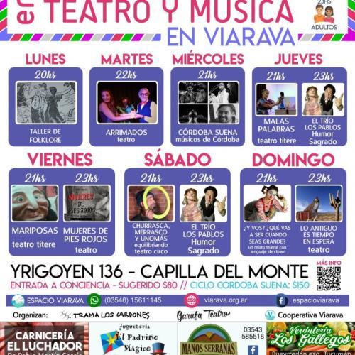 Festival música y teatro en Viarava: Verano 2018