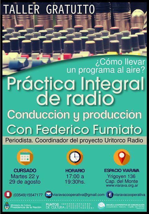Taller de práctica de radio