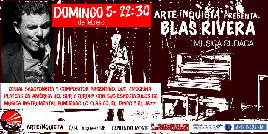 "Blas Rivera ""Música Sudaca"""