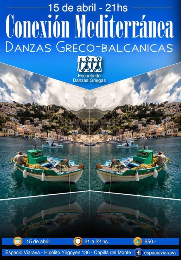 """""""Conexión mediterránea: Danzas greco-balcánicas"""""""