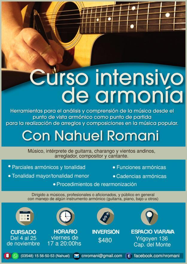 Curso de armonía con Nahuel Romani
