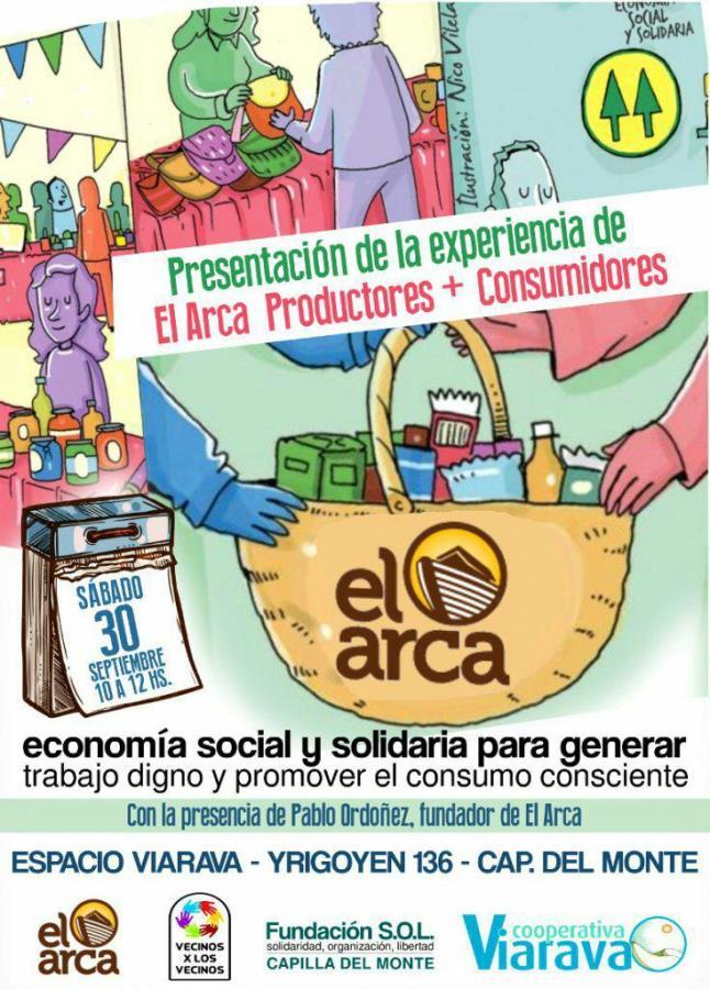 """Presentación de la experiencia:  """"El Arca – Productores+Consumidores"""""""