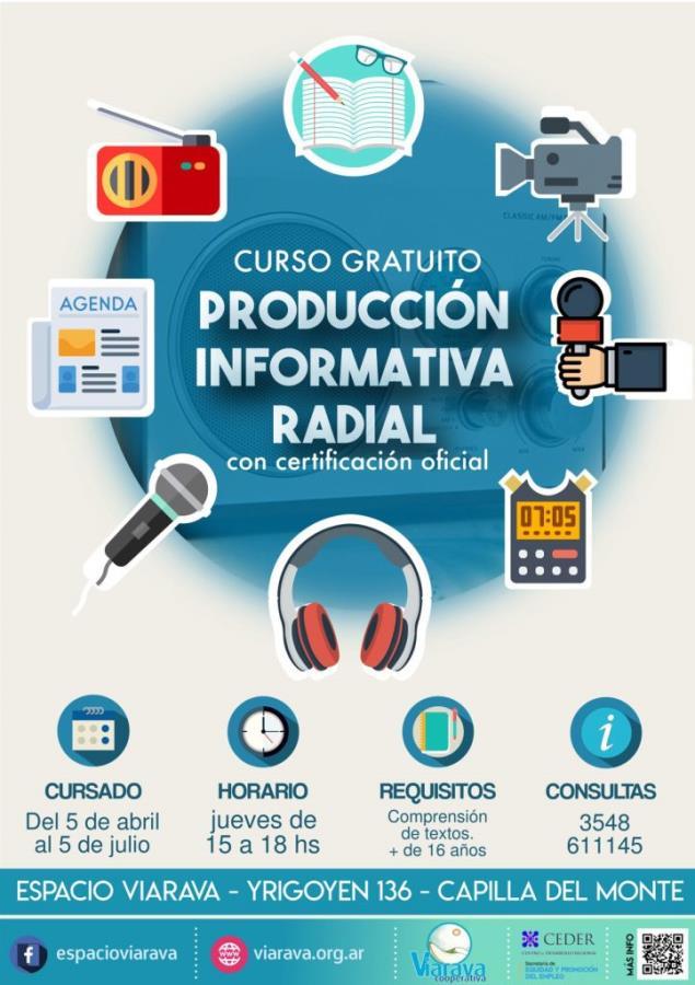Curso gratuito de producción informativa radial