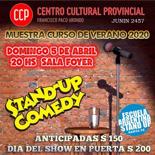 Muestra curso de stand up verano 2020