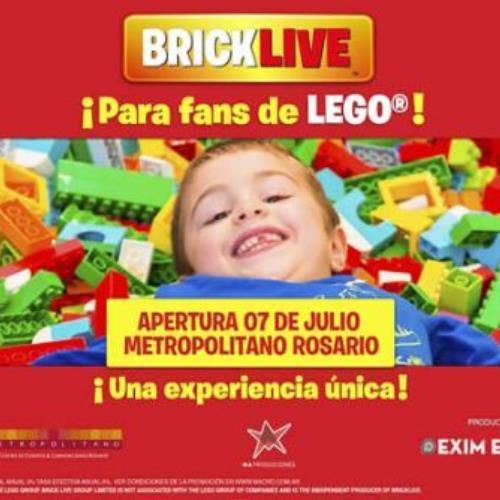 BRICKLIVE por primera vez en Argentina una experiencia única para los fans de LEGO®!