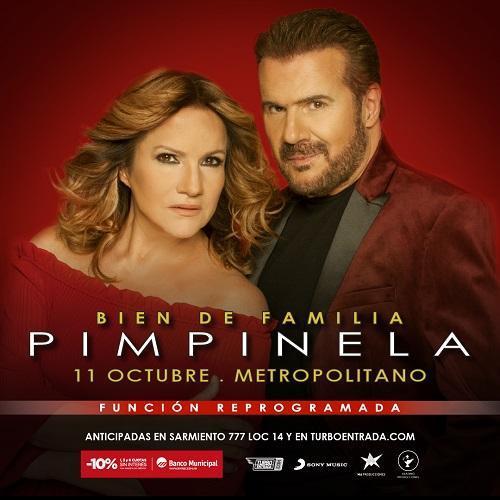 """Pimpinela presenta su nuevo espectáculo """"Bien de Familia"""" en Rosario"""