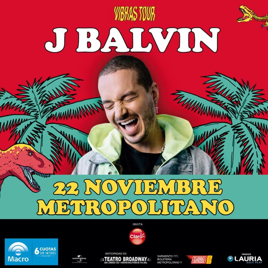 J Balvin en Rosario