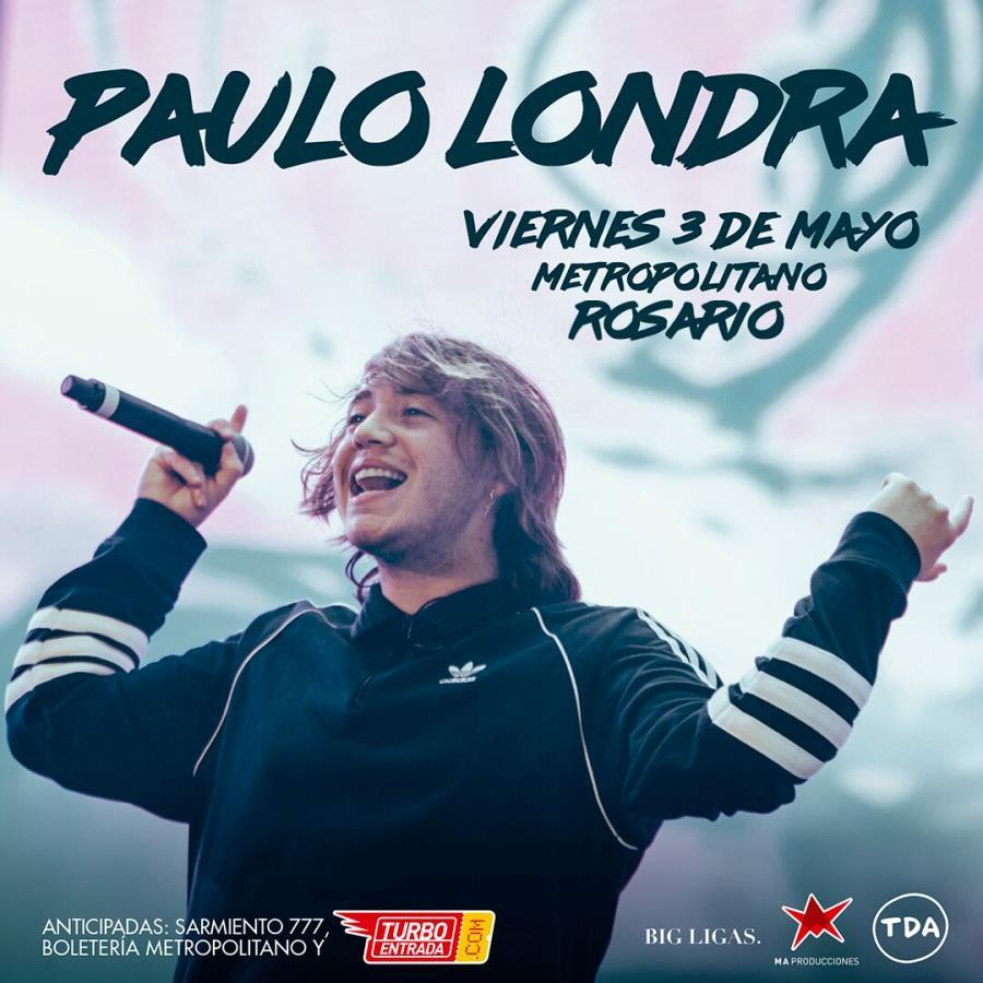 Paulo Londra llega a Rosario