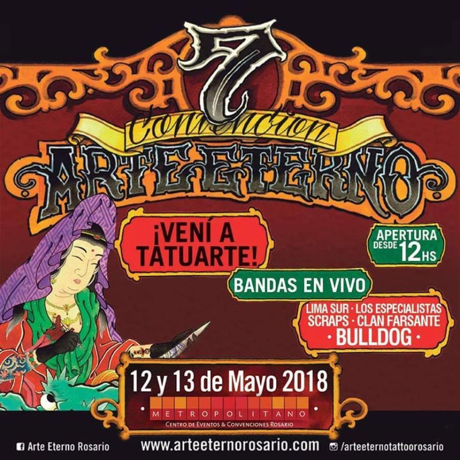 7ma CONVENCIÓN DE TATUAJES ARTE ETERNO