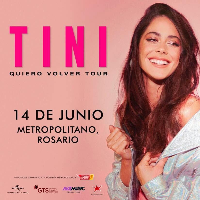 Tini regresa a Rosario