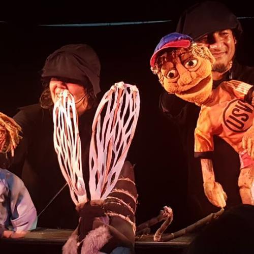 Pequeño Festival de Títeres de Mesa Marotte en Fuga