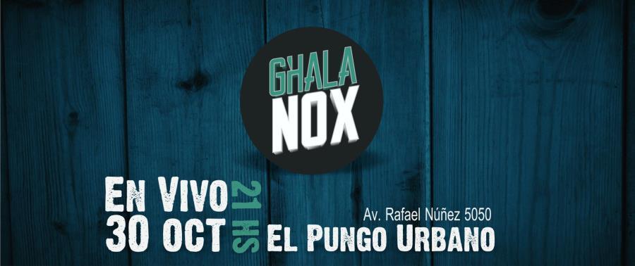 Ghala Nox en Vivo